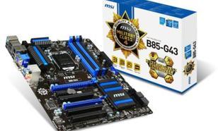 MSI B85-G43 s1150 B85 4DDR3 4USB3/GLAN ATX