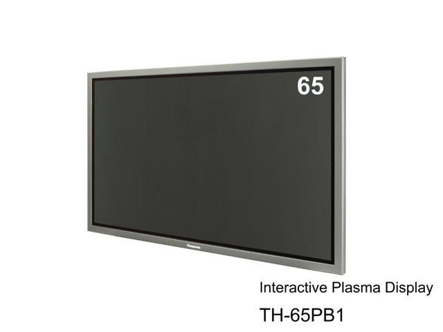 Panasonic z pierwszym interaktywnym monitorem plazmowym