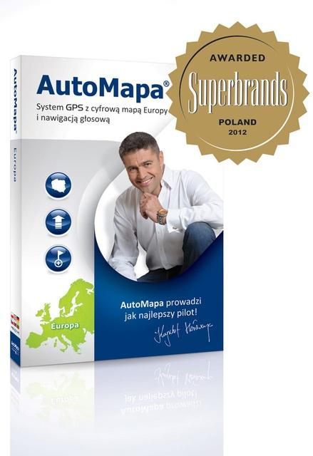 1800 kilometrów nowych dróg w AutoMapie!