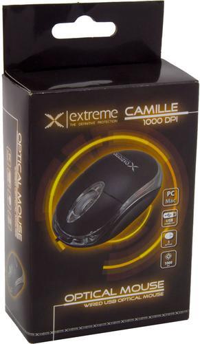 ESPERANZA MYSZ PRZEWODOWA XM102K CAMILLE USB BLACK 1000DP