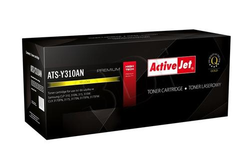 ActiveJet ATS-Y310AN toner Yellow do drukarki Samsung (zamiennik Samsung CLT-Y409S) Premium