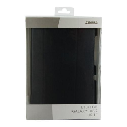 4World ETUI DO GALAXY TAB 2 10''4-FOLD SLIM CZARNE