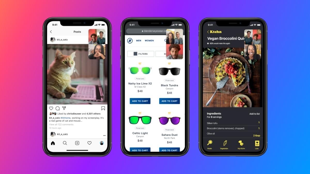Dzielenie ekranu na Messengerze ma usprawnić komunikację