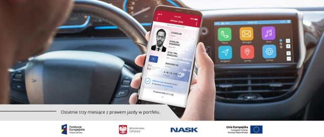Prawo jazdy z poziomu telefonu pojawi się już niebawem