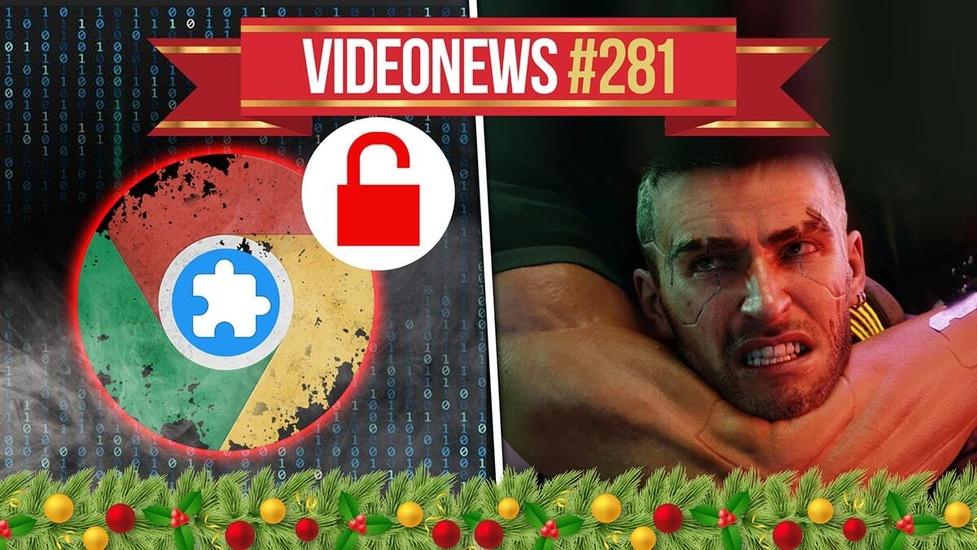 Cyberpunk 2077 problematyczny, Google pozwany w USA - VideoNews #281