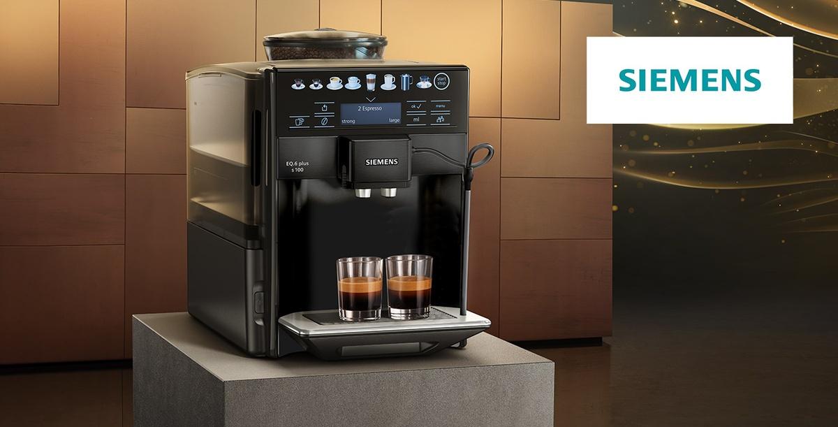 Ekspres do kawy Siemens TE651319RW EQ.6 plus s.100 to nowoczesna propozycja