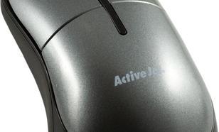 Activejet przewodowa optyczna AMY-004 800dpi szaro-czarny