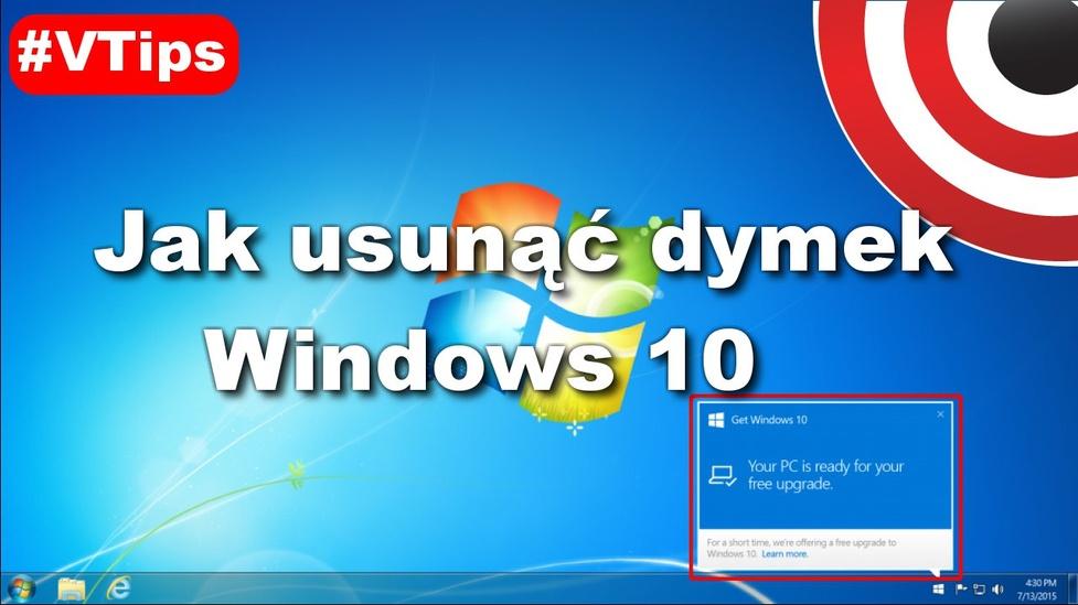 Jak Usunąć Powiadomienie O Aktualizacji Windows 10? - #VTips #4