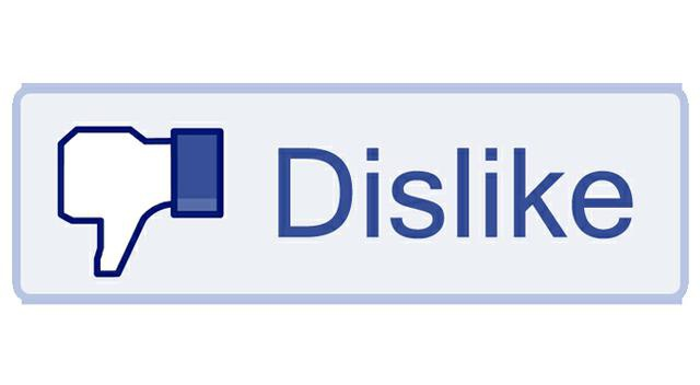 Nie lubię to na Facebook