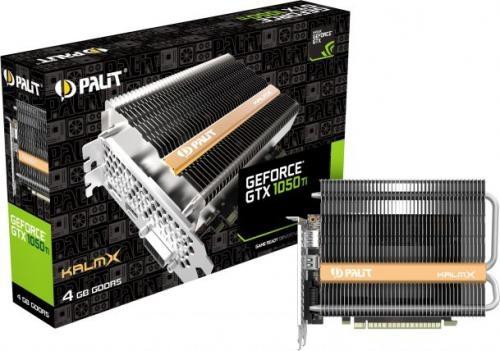 Palit GeForce GTX1050Ti KalmX 4GB GDDR5 (128 Bit) DVI, HDMI, DP, BOX (NE5105T018G1H)