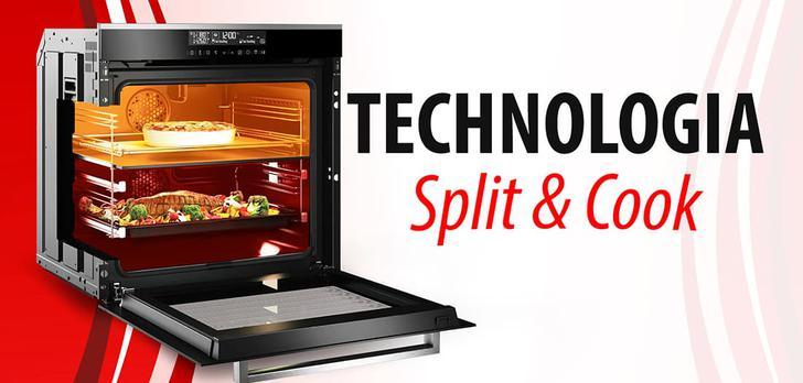 Technologia Split & Cook w piekarnikach Beko