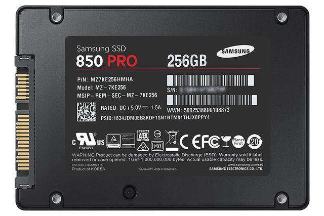 Samsung 850 Pro 256 GB