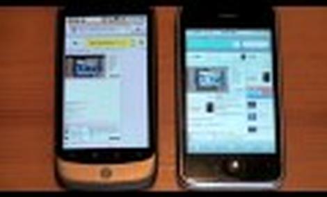 Nexus One vs. iPhone 3GS: szybkość sieci & jakość aparatu