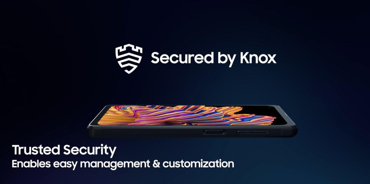 Samsung Galaxy XCover Pro posiada zabezpieczenia przed atakami