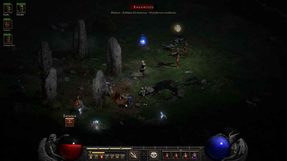Diablo II: Resurrected - Kamienne Pola