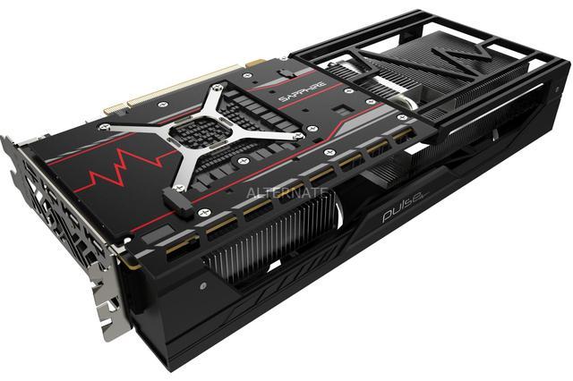 SAPPHIRE Pulse Radeon RX VEGA 56 - backplate