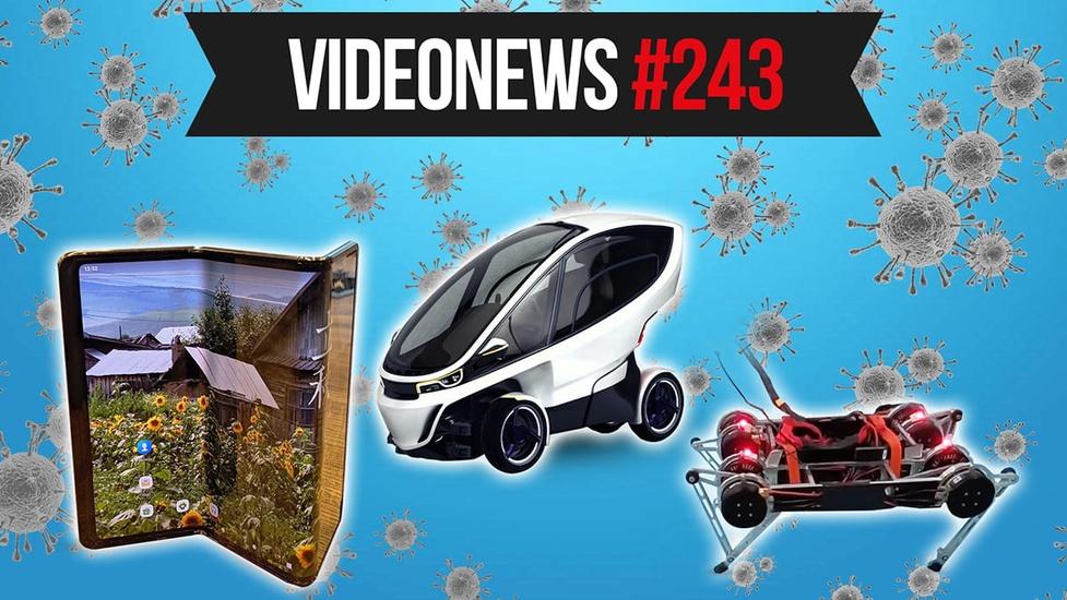Nowe auta na prąd, koronawirus zmienia świat - VideoNews #243