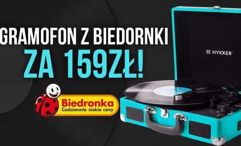 Gramofon z Biedronki za 159 zł! TEST Vintage Sound
