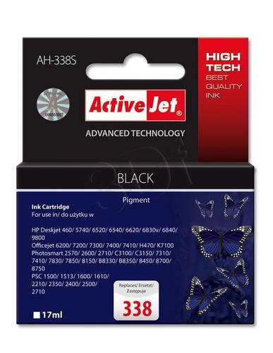 ActiveJet AH-338S tusz czarny do drukarki HP (zamiennik HP 338 C8765E) Premium Standard
