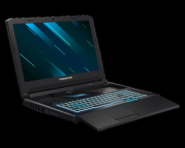 Acer Helios 700 - laptop z wysuwana klawiaturą