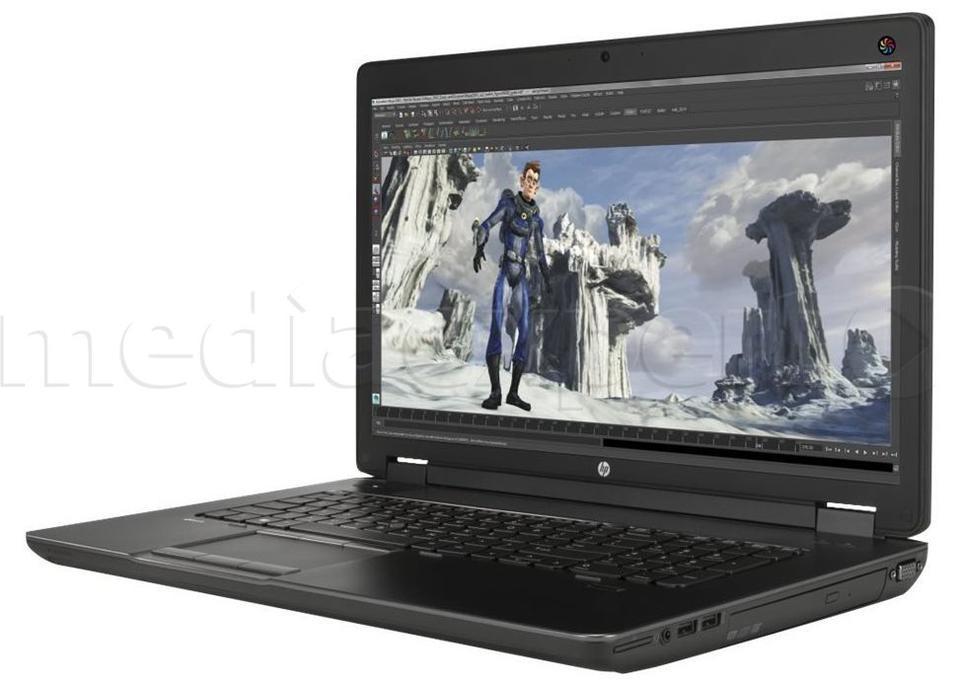 HP ZBook 17 G2 (J8Z41EA) i7-4810MQ 16GB 256GB SSD 750GB HDD W7P/W8P