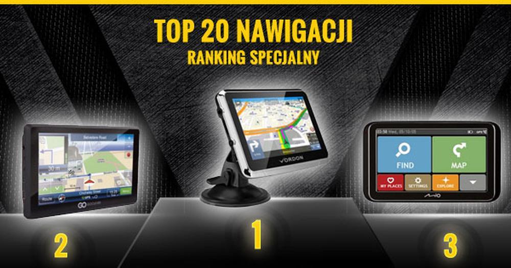 Ranking Nawigacji GPS - Sprawdź TOP 20 Hitów 2015!