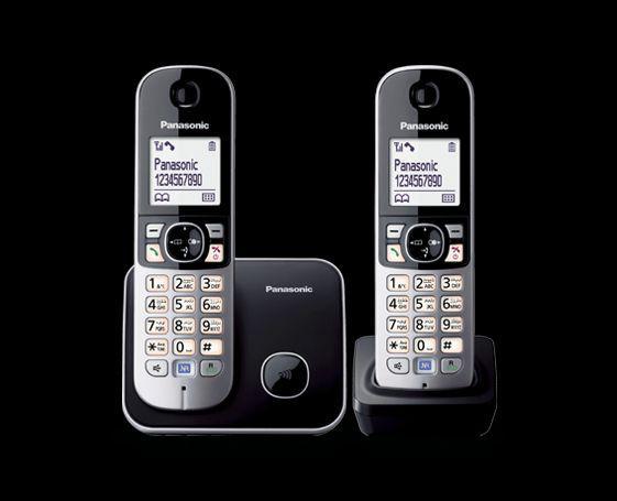 bezprzewodowy telefon stacjonarny Panasonic KX-TG6812PDB