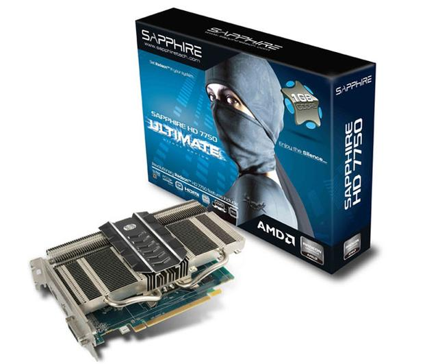 Sapphire AMD Radeon HD7750 Ultimate Silent Series
