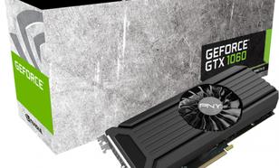 PNY Technologies GeForce GTX 1060 3GB GDDR5 (192 Bit) HDMI, DVI, DP, BOX (GF1060GTX3GEPB)