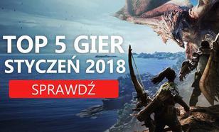 Najlepsze Premiery Gier Styczeń 2018 – DUSK, Street Fighter V, Dragon Ball FighterZ, Monster Hunter