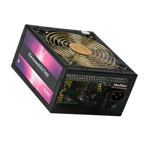 Qoltec Zasilacz ATX Storm 650W APFC modularny 80+