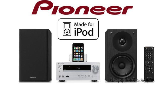Pioneer X-HM50 - wysokiej jakości wieża z gniazdem na iPoda