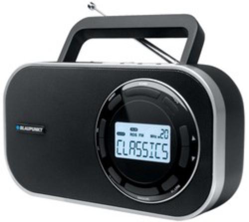 Blaupunkt BTA 7000 CZARNY RADIO CYFROWE