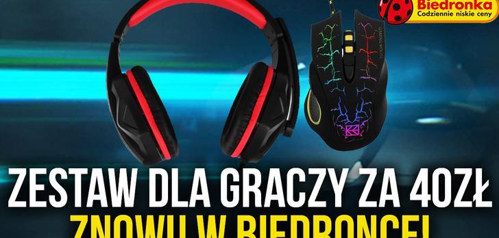 Promocja w Biedronce! Zestaw Gaming Set XR – Klawiatura, Podkładka i Słuchawki