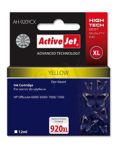 ActiveJet AH-920YCX tusz żółty do drukarki HP (zamiennik HP 920XL CD974AE) Premium