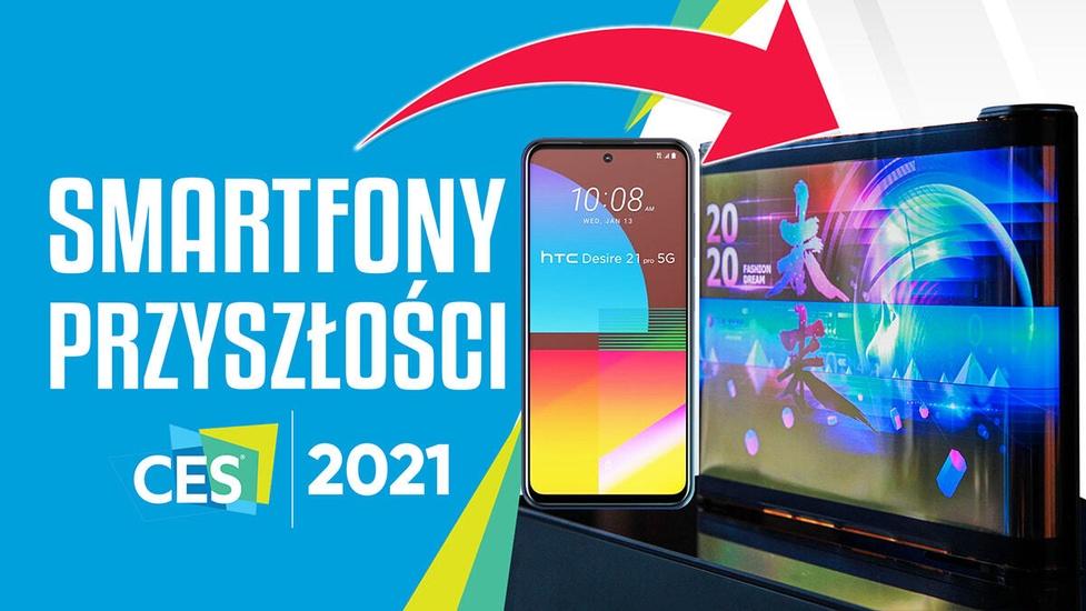 Smartfony przyszłości - Co pokazano na targach CES 2021?