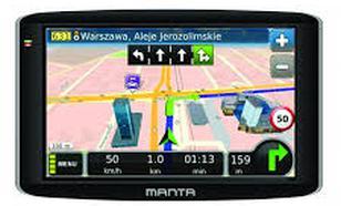 "Nawigacja 7"" Manta GPS720 Easy Rider"