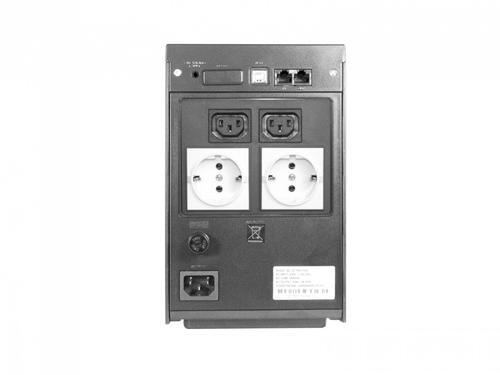 Lestar UPS S-1050S 1000VA/600W AVR 2XIEC + 2XSCH USB RJ45