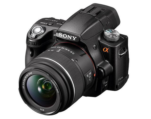 Sony Alpha SLT-A55 - lustrzanka cyfrowa z wyższej półki