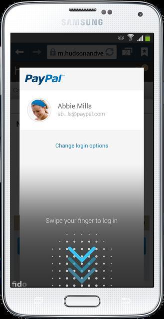 Samsung Galaxy S5 i PayPal - płacenie za pomocą odcisku palca