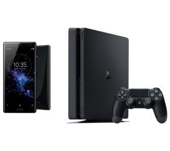 Sony Xperia XZ2 (Płynna czerń) + PlayStation 4 Slim 500GB