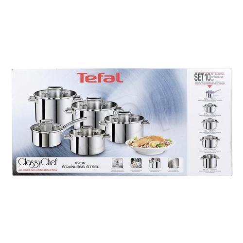 Komplet garnków Tefal Classy Chef 10 elementów