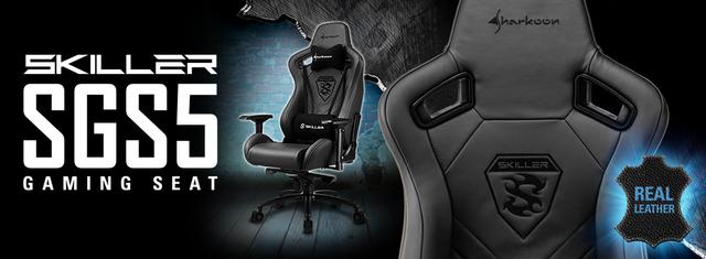 SHARKOONSKILLER SGS5 - fotel dla graczy