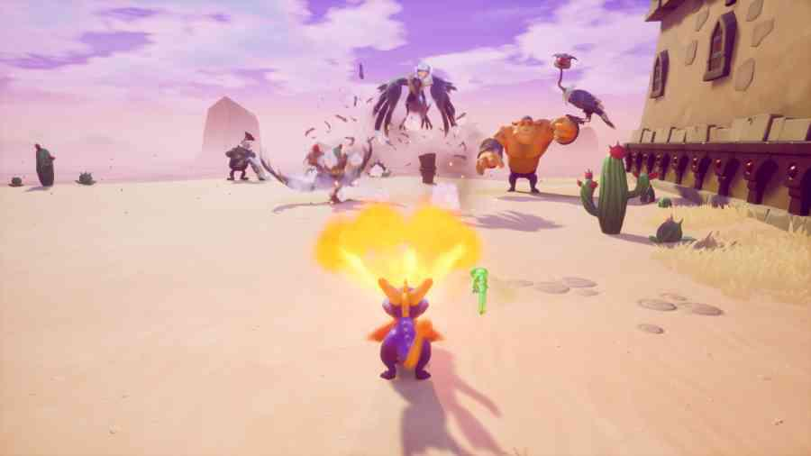 Spyro Reignited Trilogy - Potwory uciekają w popłochu!