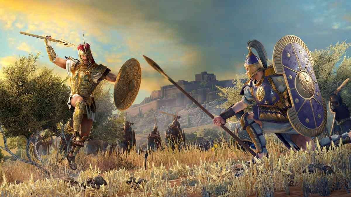 Total War Saga: Troy - Grafika z gry