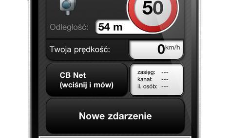 Twoja komórka ostrzega bezpłatnie przed kontrolą prędkości!