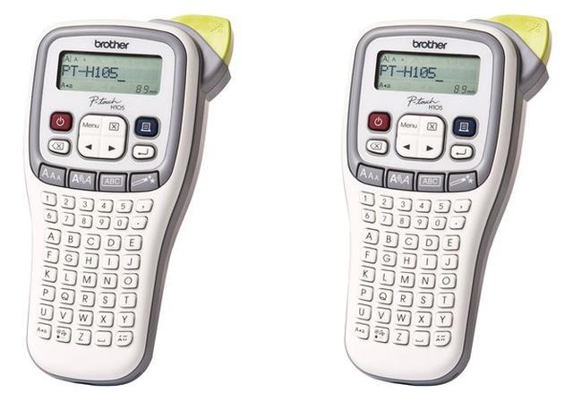 Brother P-touch H105 - funkcjonalna drukarka do etykiet