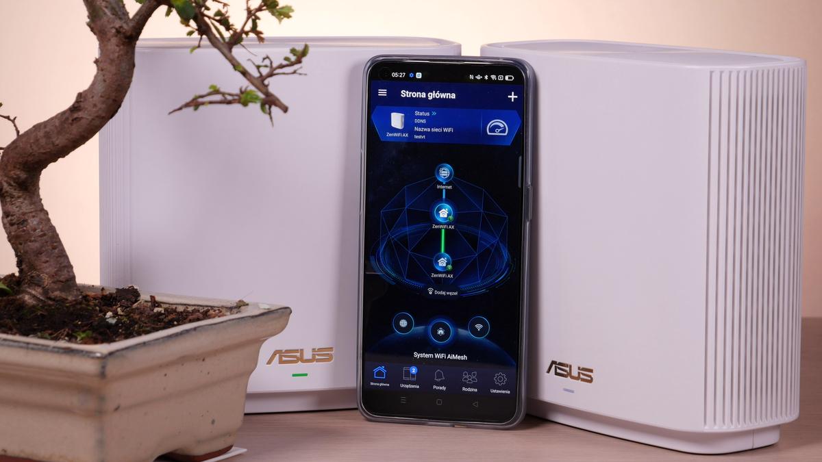 Aplikacja Asus ZenWiFi XT8