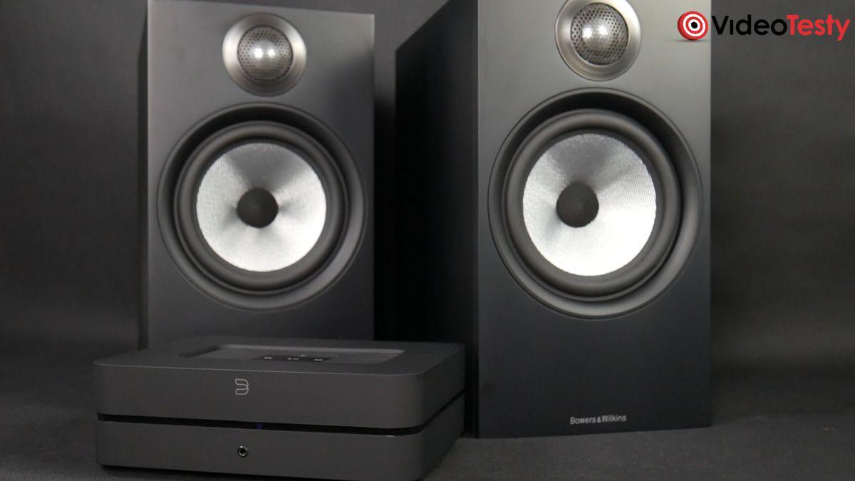 Bowers & Wilkins 606 x 2 i ze wzmacniaczem audio