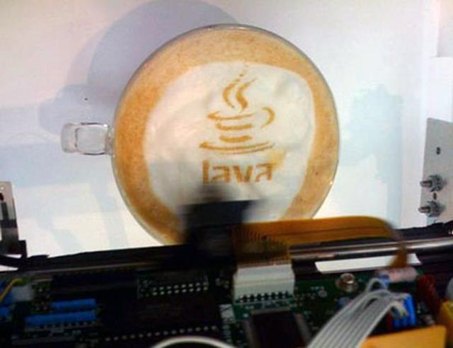 Drukowanie na kawie
